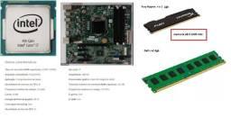 PC Gamer Kit upgrade - Processador Core i7 4770, placa mãe e memorias