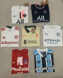 Título do anúncio: Camisas Futebol 21/22