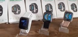 D20 Y68 Atualizado Smartwatch Relógio Inteligente Novo na Caixa Disponível