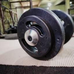 Título do anúncio: kit halter injetado de 12 kg a 20 kg