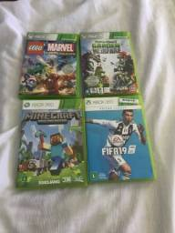 Jogos do Xbox 360 e Xbox One