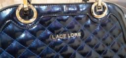 Bolsa Lace Lore na cor Azul. Linda!! Nova!!! Baixou!!