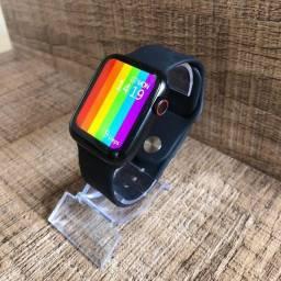 Smartwatch estilo série 6!! mais de 60 telas (smarfaces)