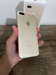 Título do anúncio: iPhone 7 Plus 128gb Gold