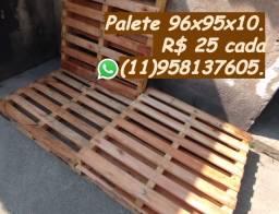 Palete de madeira 96x95 entrego