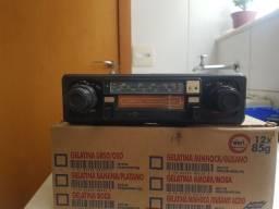 Rádio toca fita motorradio