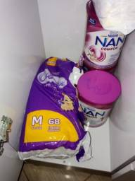 Título do anúncio: Vendo 3 latas de NAN 1 lacradas de 0 a 6 meses