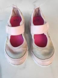 tênis rosa bibi