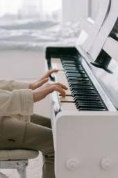 Título do anúncio: Aula de teclado e piano