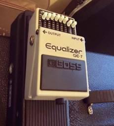 Pedal Boss Equalizador equalizer GE-7 Ge7 seminovo