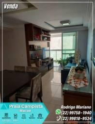Vendo excelente apartamento com 03 quartos na Praia Campista em Macaé-RJ