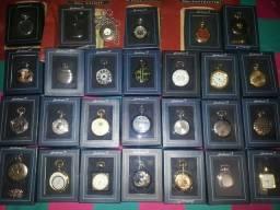 Vendo coleção de relógios de bolso