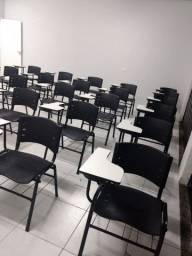 Carteiras Escolares Novas Para Curso e Empresas - New ISO - Polipropileno - Varias Cores