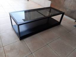 Mesa baixa vidro ou conjunto de mesa alta +mesa baixa...lindíssima !!!!