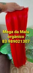 Mega Hair vermelho orgânico