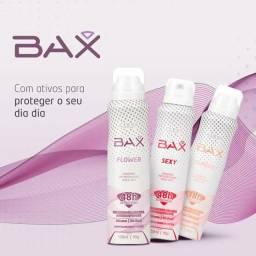 Kit com 3 Desodorantes Aerosol BAX, Antitranspirantes jato seco