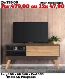 Rack de televisão e Estante de TV- Promoção em MS