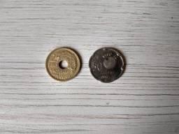 Moedas antigas numismática
