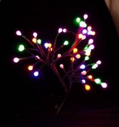 Árvore cerejeira decoração bolinha