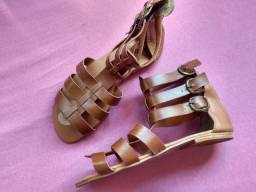 Sandália gladiador N° 37
