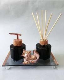 Título do anúncio: Kit lavabo Luxo Difusor de Varetas com Essência