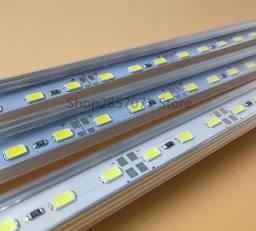 faixa de led rígida de alumínio  12v 50cm