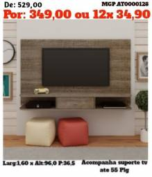 Painel de televisão Grande-Painel de TV- Painel até 55 Plg-Descontasso MS