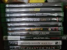 Vendo jogos ps3, Xbox 360, e Xbox one