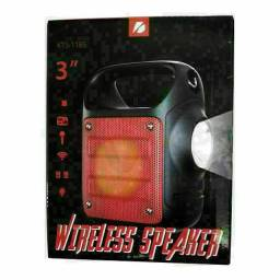 Caixinha via Bluetooth Com lanterna e alça regulável  $70 Nova