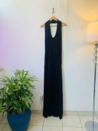 Título do anúncio: Vestido preto M/G (malha fria)