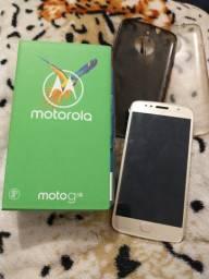 Vendo MotoG5s 32G dourado