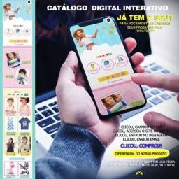 Cardápio e cartão digital e interativo