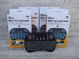 Mini Teclado Wireless Bluetooth Touchpad Tv Box