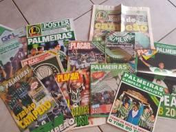 Pack De Revistas/pôster Do Palmeiras - Várias Épocas, Raros