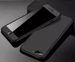 Capa protetora frente e costa IPhone Plus 7/8