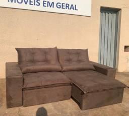 Título do anúncio: Sofá retrátil e reclinável totalmente novo saindo direto da fabrica