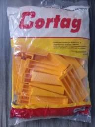 Título do anúncio: Cunha + Espaçador/Nivelador Cortag pacotes com 50 unidades