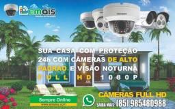 Título do anúncio: Kit de Câmeras de Segurança em alto padrão 4 unidades