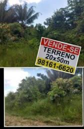 TERRENO 20x50m Estrada Acutuba Km28