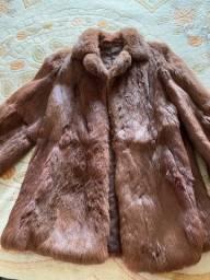 Casaco de peles