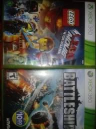 2 jogos de Xbox 360 Originais