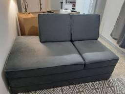 Sofá impecável.... tecido novo