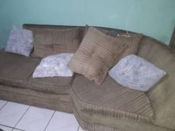 Jogo de sofá, Rack, Mesa De Centro Com cadeiras