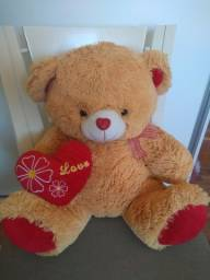 Título do anúncio: Urso de pelúcia love 50 cm