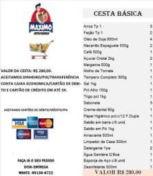 Cesta Basica - 50% na promissória - Entrega gratis