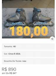 Patins de 180,00 Whatsapp *