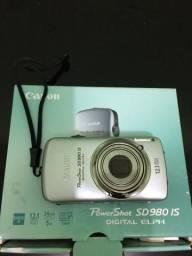 Câmera Canon Powershot Sd980 Is 12.1 Mp