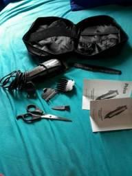 Kit completo máquina de cortar cabelo