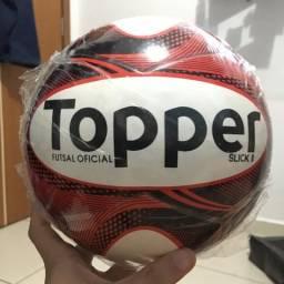Bola Futsal Topper Slick II vermelha 8159400a64
