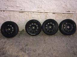 Rodas de ferro 5 furos